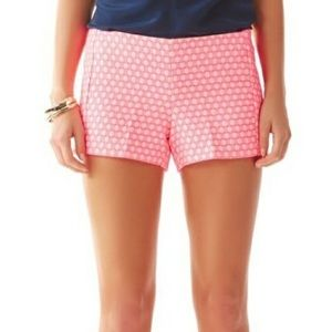 Lilly Pulitzer Liza Hottie Pink Geo Shorts